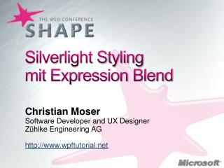 Silverlight Styling mit Expression Blend