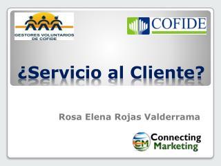 ¿Servicio al Cliente?