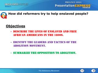 Describe the lives of enslaved and free African Americans in the 1800s.
