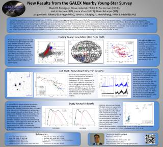 New Results from the GALEX Nearby Young-Star Survey