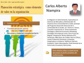 Planeación estratégica  como elemento de valor en la organización