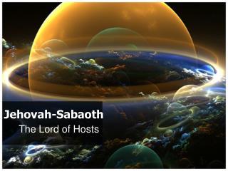 Jehovah- Sabaoth