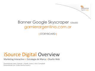 Banner  Google  Skyscraper 120x600 garnierargentina.com.ar [  STORYBOARD ]