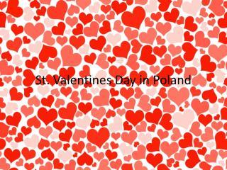 St.  Valentines  Day  in  Poland