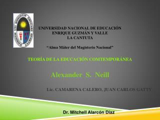 Alexander Neill y su propuesta educativa