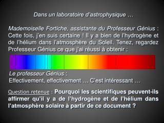 Le  professeur  G�nius : Effectivement, effectivement � C�est int�ressant �