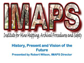 History, Present and Vision of the Future Presented by Robert Wilson, IMAPS Director