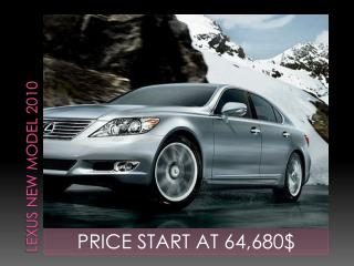 LEXUS New Model 2010