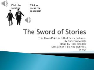 The Sword of Stories
