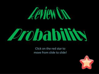 Review On Probability