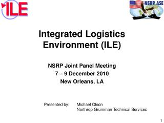 Integrated Logistics Environment (ILE)