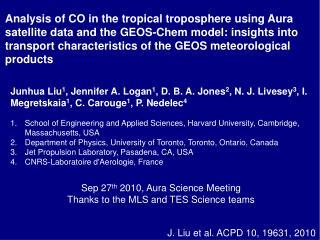 J. Liu et  al. ACPD  10 , 19631,  2010
