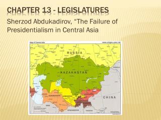 Chapter 13 - Legislatures