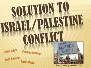 Solution to  israel /Palestine Conflict