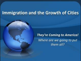 Immigration and the Growth of Cities
