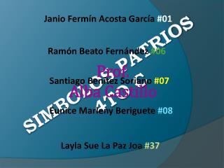 SIMBOLOS Patrios 4to C