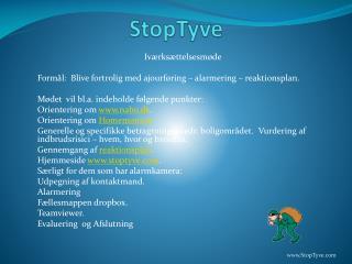 StopTyve