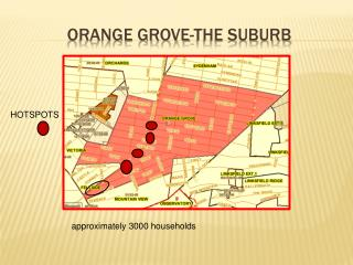 orange grove-THE SUBURB
