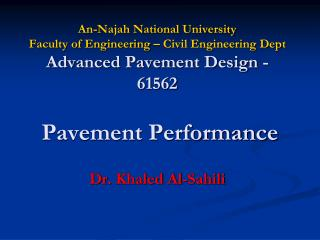Dr .  Khaled  Al- Sahili