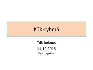 KTK-ryhm�
