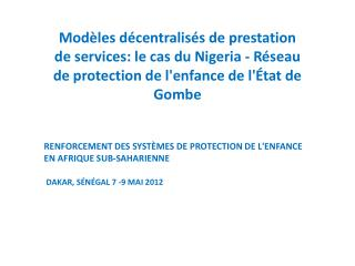 Structure de Prestation de Services