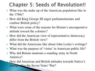Chapter 5:  Seeds of Revolution !!
