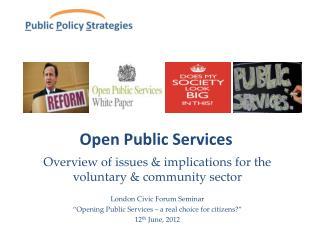 Open Public Services