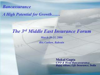 Mukul Gupta Presentation - PowerPoint Presentation