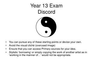 Year 13 Exam Discord