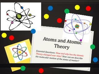 Atoms and Atomic Theory