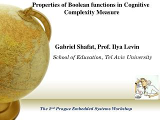 Properties  of Boolean functions in Cognitive  Complexity  Measure