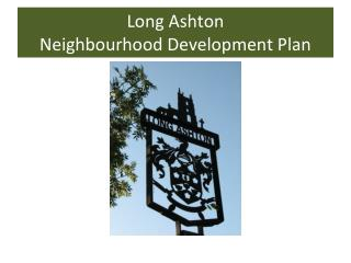 Long Ashton Neighbourhood Development Plan
