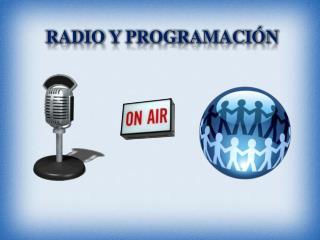 RADIO  y  programación