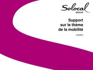 Support  sur le thème  de la mobilité