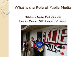 What is the Role of Public Media