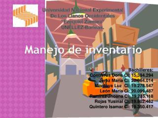 """Universidad Nacional Experimental De Los Llanos Occidentales """"Ezequiel Zamora"""" UNELLEZ-Barinas."""