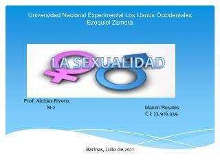 Universidad Nacional Experimental Los Llanos Occidentales Ezequiel Zamora