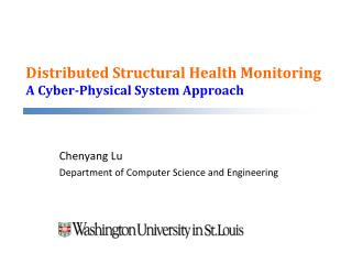 Distributed Structural Health Monitoring A Cyber-Physical System Approach