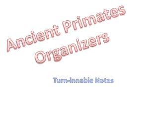 Ancient Primates Organizers