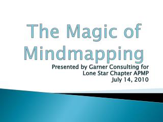 The Magic of  Mindmapping