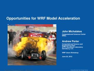 Opportunities for WRF Model Acceleration