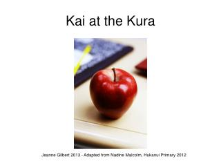 Kai at the Kura