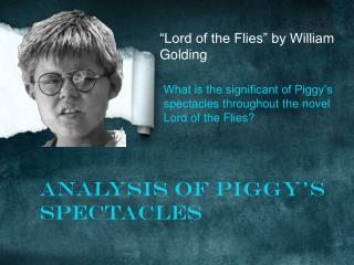 """Lord of the Flies"" by William Golding"