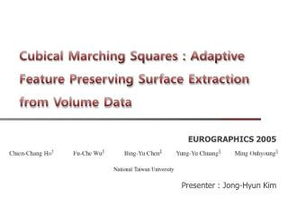 Cubical Marching Squares : Adaptive Feature Preserving Surface Extraction from Volume Data