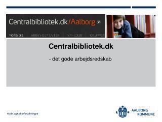 Centralbibliotek.dk