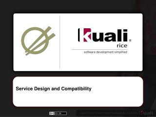 Service Design and Compatibility