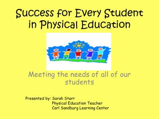 Success for Every Student in Physical Education