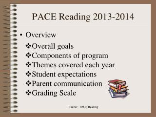 PACE Reading 2013-2014