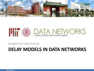 Delay models in data networks
