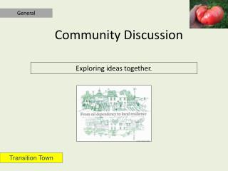 Community Discussion